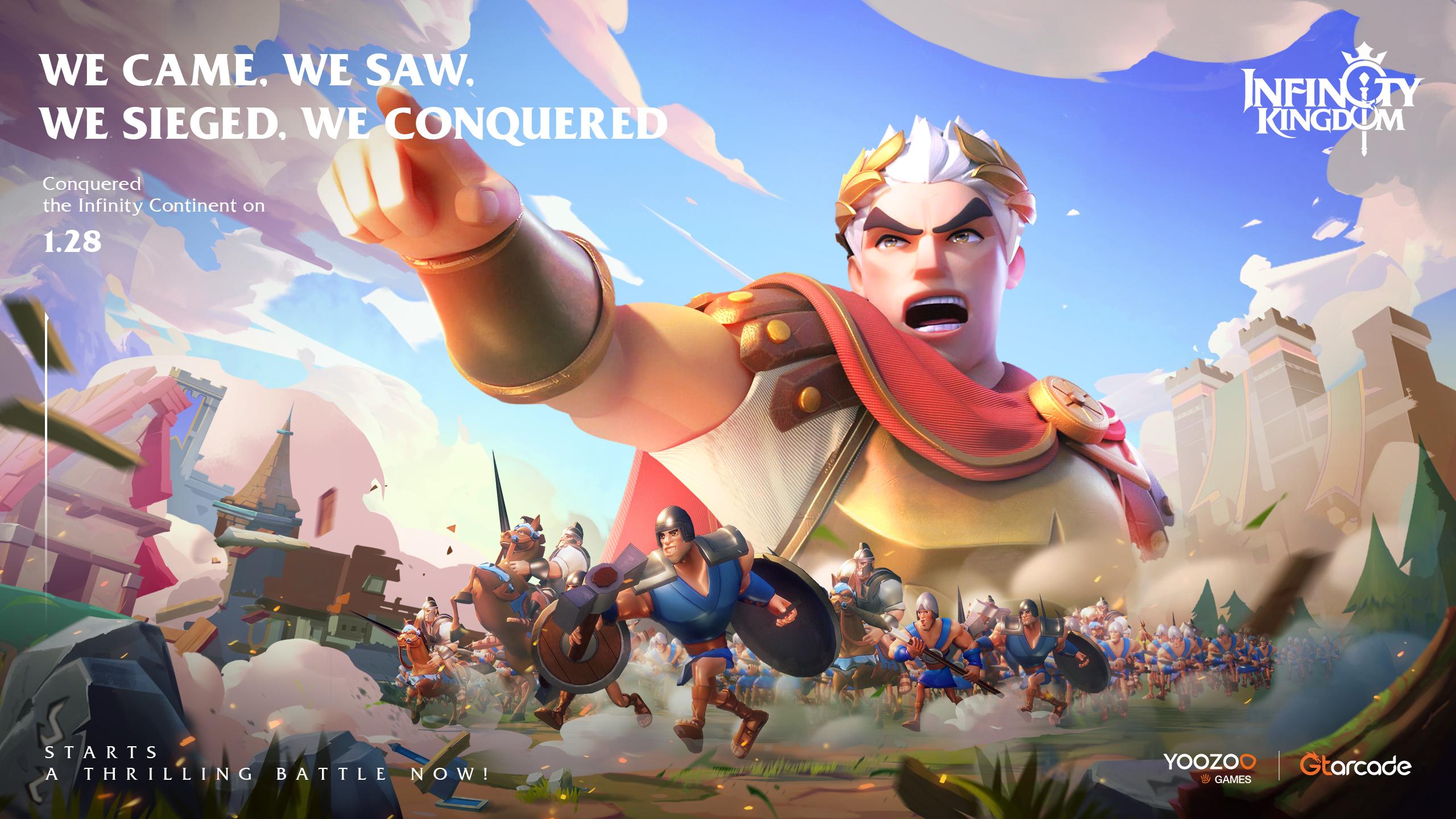 Infinity Kingdom ya está disponible y trae un profundo juego MMO de estrategia a iOS y Android
