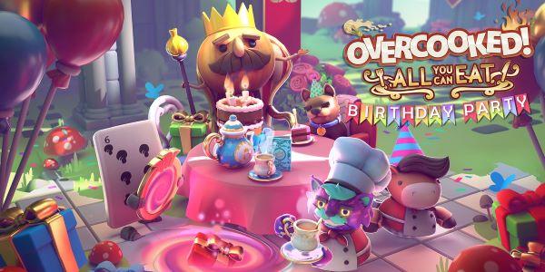 Únete a kevin y al Rey de la Cebolla para celebrar el quinto aniversario de Overcooked!